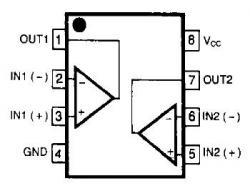 NE5532 Dual Low-Noise Op Amp
