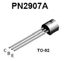 Pn2907a Pnp Transistor Nightfire Electronics Llc