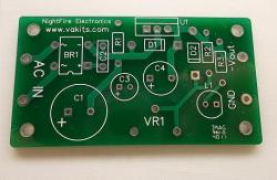 PCB Only - Negative Adjustable Power Supply PCB