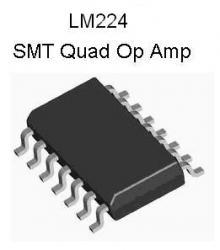 LM224 SMT Quad Op Amp