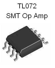 TL072 SMT Dual JFET Op Amp
