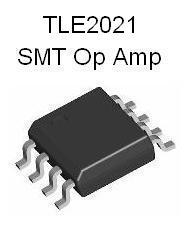 TLE2021 SMT Precision Op Amp Design Kit w/ SMT PCB (#2807)