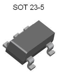 LP2985AIM5-1.8 SMT Voltage Regulator