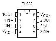 TL082 SMT Dual JFET Op Amp