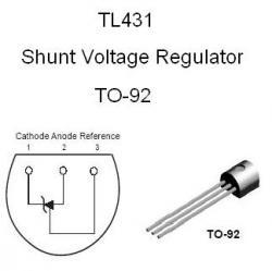 TL431C Adjustable Shunt Regulator