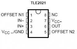 TLE2061 Excalibur JFET Op Amp