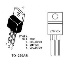 Tip31c Npn Power Transistor Nightfire Electronics Llc