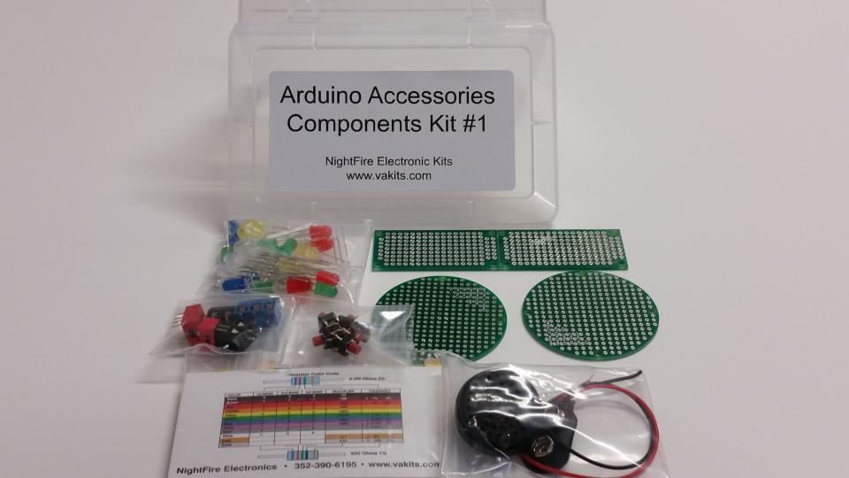 Arduino accessories components kit nightfire