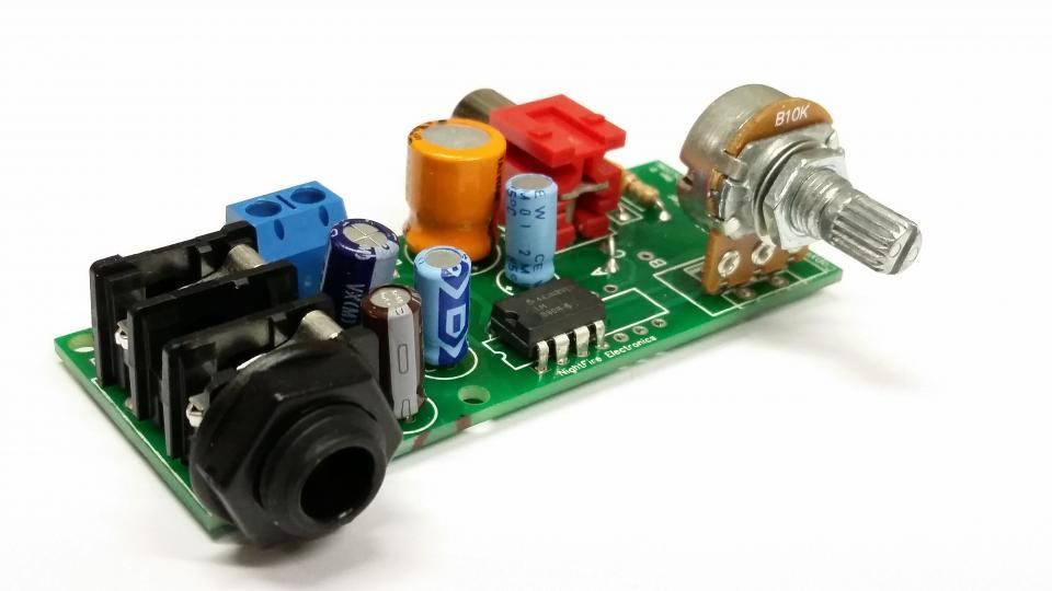 2 5-Watt Audio Amplifier Kit #5316 N-8 (IN=1/4