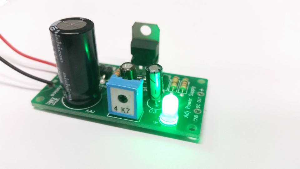 Basic Power Supply Regulators Circuit Using Lm723c