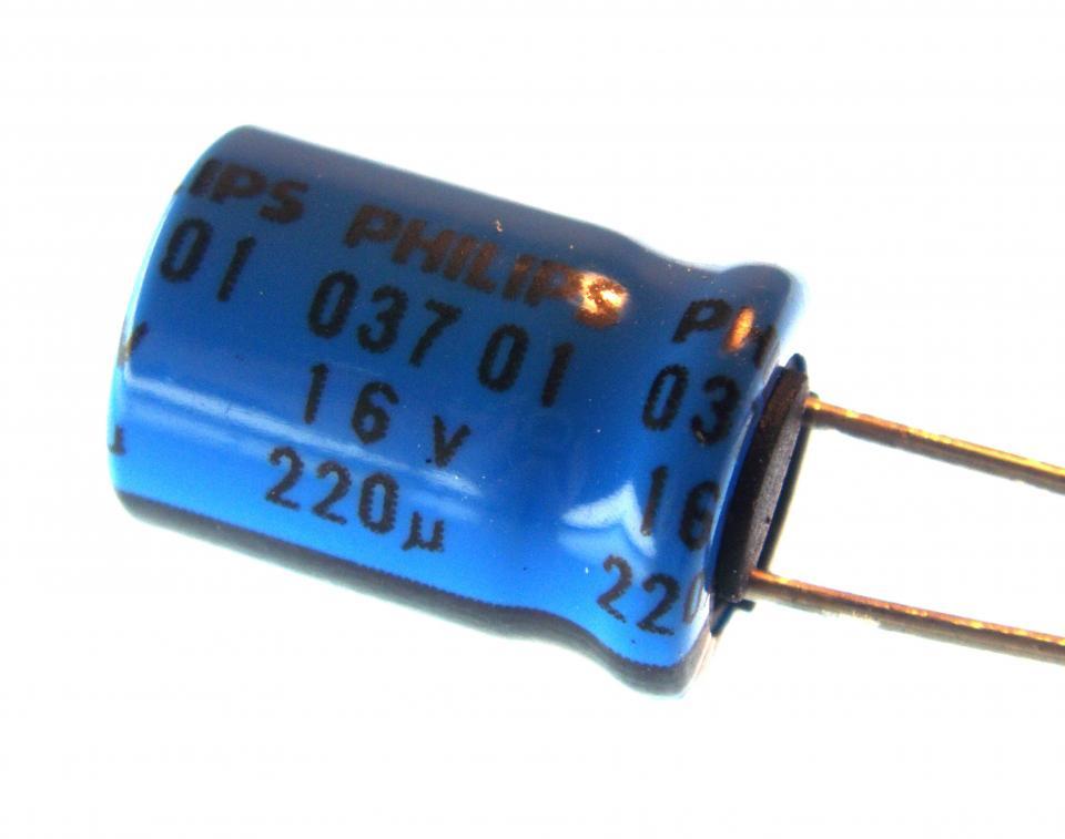 Aluminum Electrolytic 220uf 16v Radial Nightfire