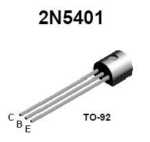 2n5401 Pnp High Voltage Transistor Nightfire Electronics Llc