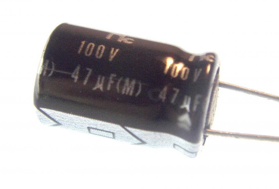 Aluminum Electrolytic 47uf 100v Radial Nightfire