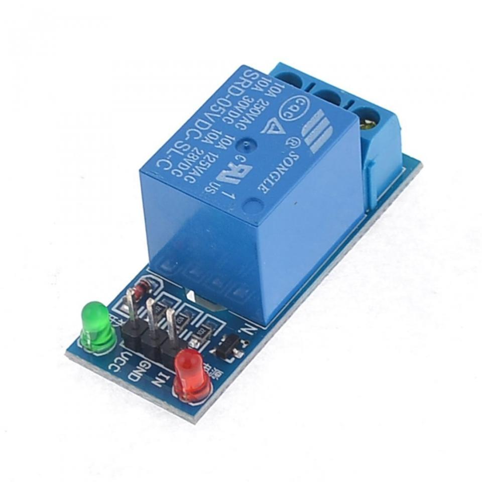 Low level one channel relay module v dc for arduino