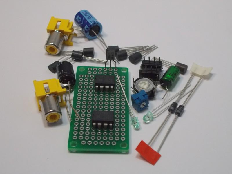Tl062 Jfet Dual Op Amp Design Kit 1860 Nightfire