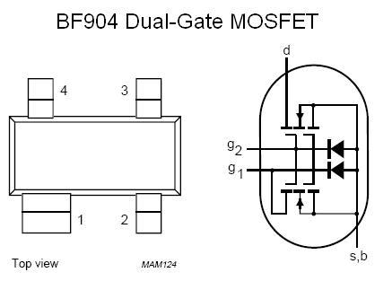 Smt Fet Bf904 N Channel Dual Gate Fet Nightfire