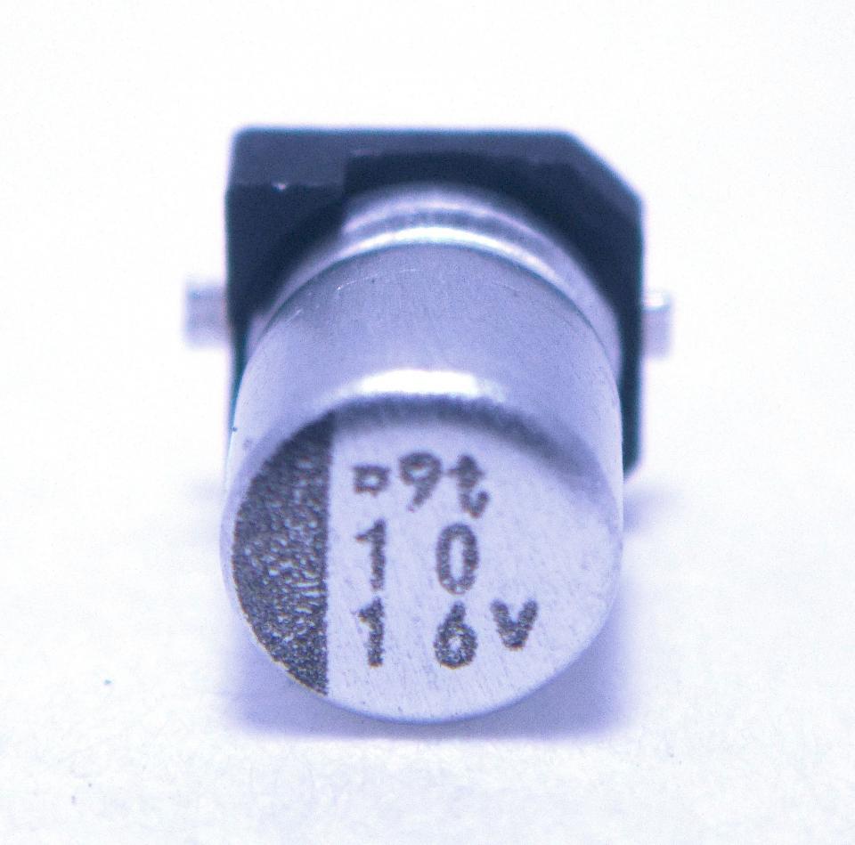 Smt Aluminum Capacitor 10uf 16v Nightfire