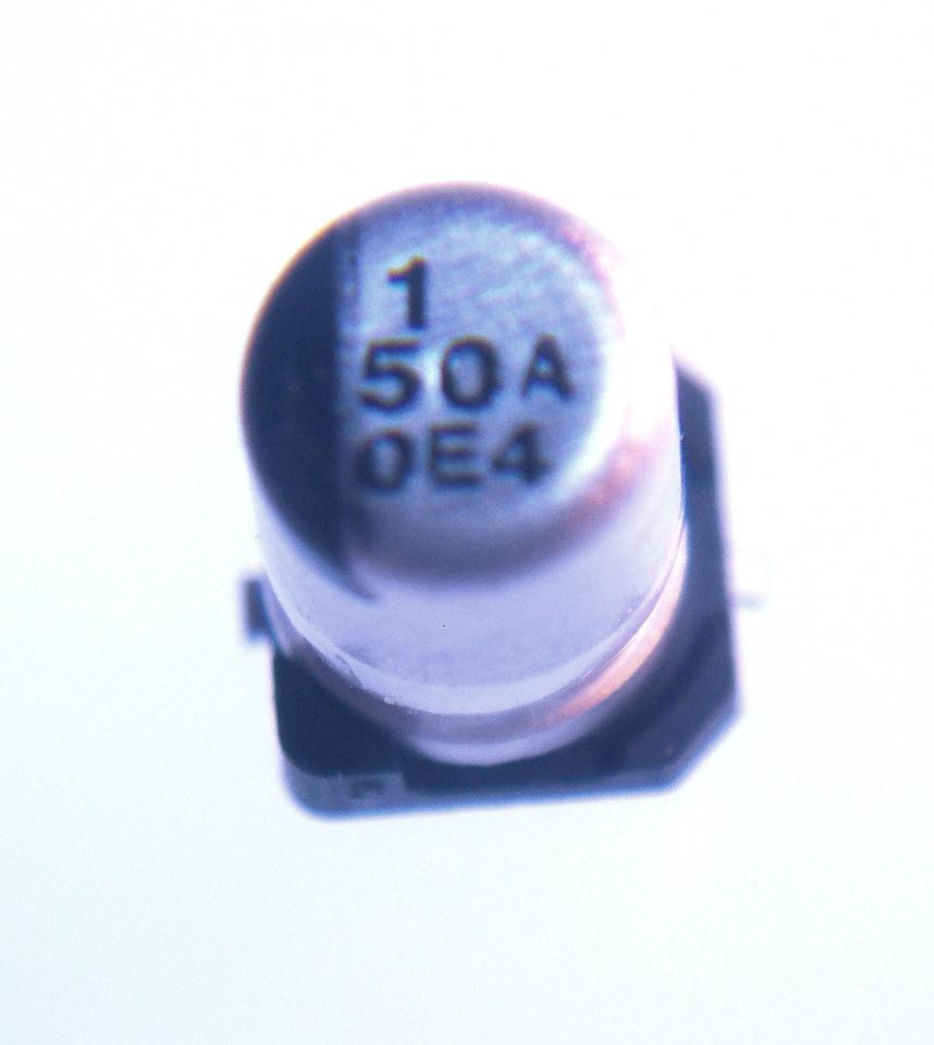 Smt Aluminum Capacitor 1uf 50v Nightfire Electronics Llc
