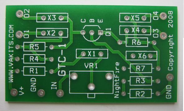 Pcb Only Transistor Circuit Development Nightfire