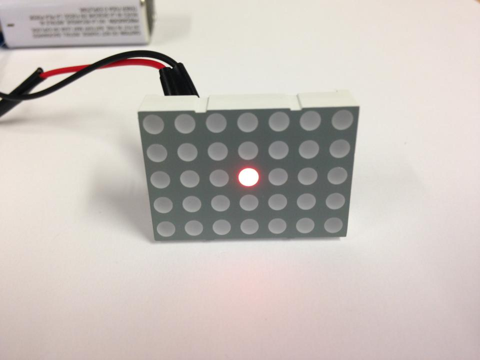 5x7 Led Dot Matrix Display Nightfire Electronics Llc