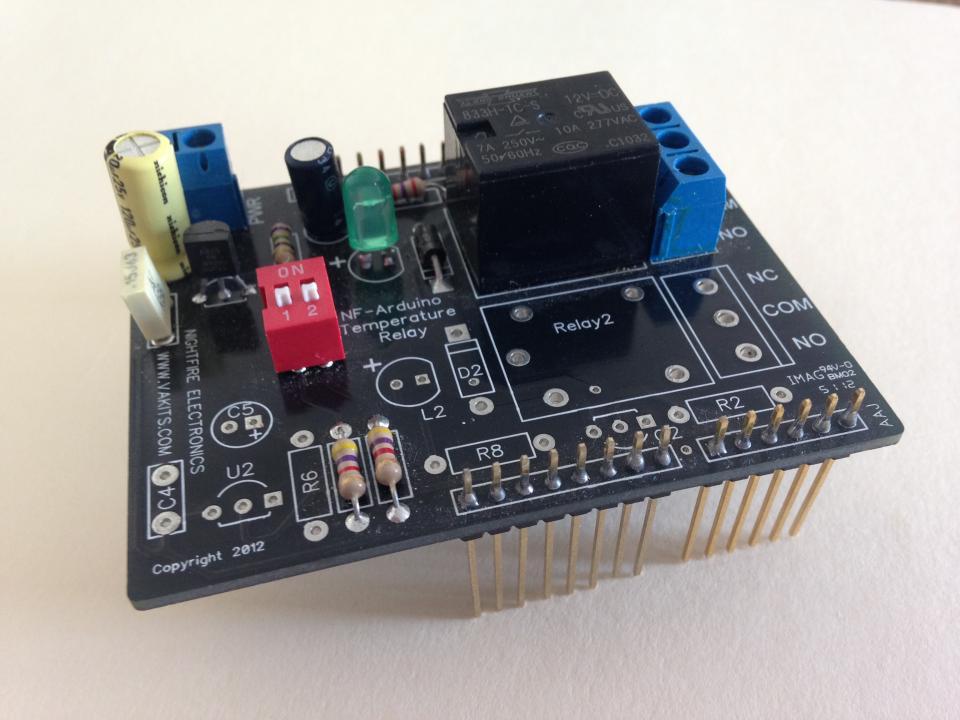 arduino photocell sensing light