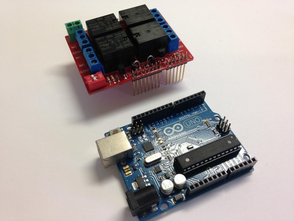 Arduino relay shield kit v nightfire electronics llc