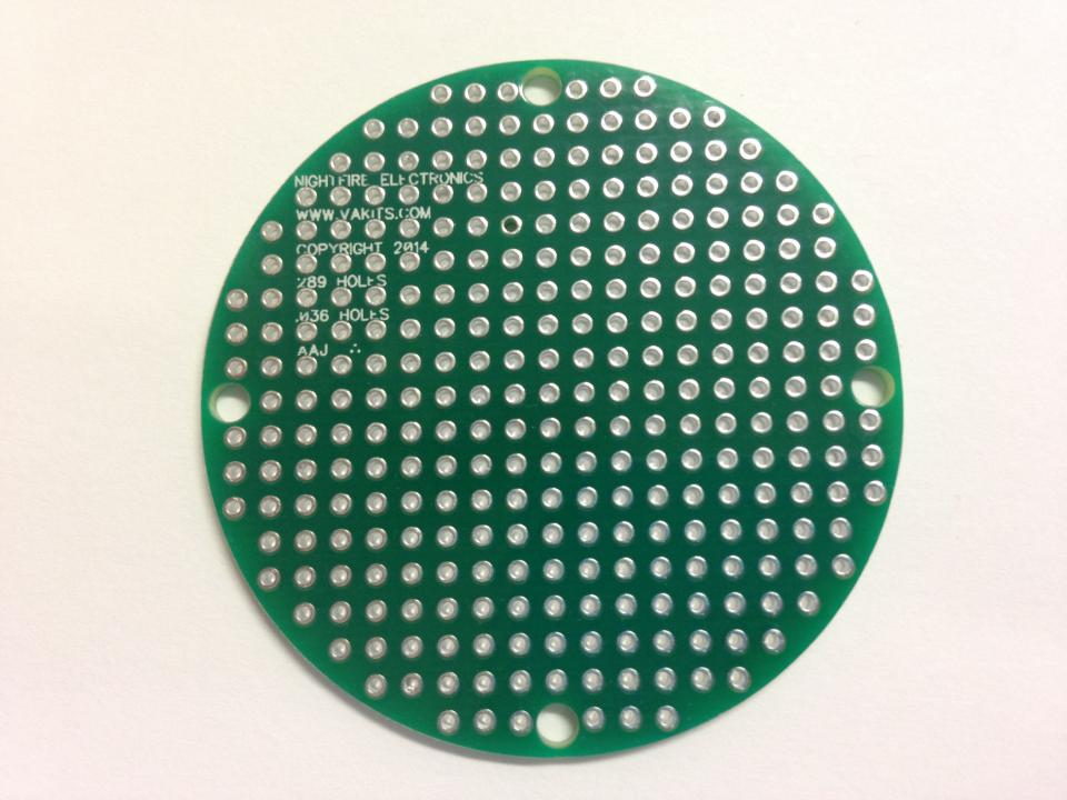 Pcb Only 2 Round Pcb 6 Pack Nightfire Electronics Llc