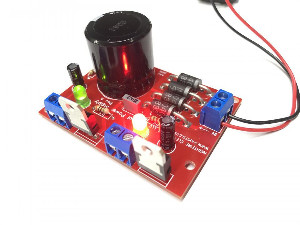 Dual DC Power Supply: 9vdc @ 1.5A & 12vdc @ 1.5v (#7448) | NightFire ...