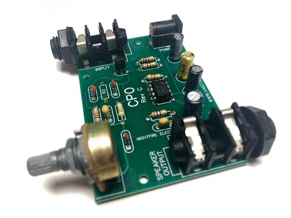 Code Practice Oscillator Kit | NightFire Electronics LLC