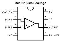 LF351 & LM555 IC Kit (#1280)   NightFire Electronics LLC