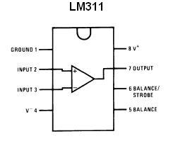 Lm311 Smt Voltage Comparator Ic Nightfire Electronics Llc