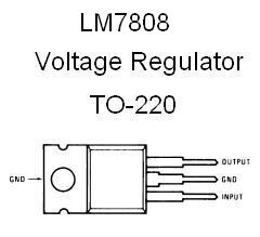 Lm7808 Positive 8v Voltage Regulator Nightfire