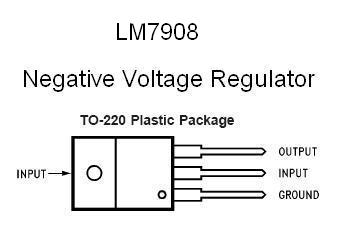 Lm7908 Negative 8v Voltage Regulator furthermore Battery Charger With Overcharge also Battery Level Monitor additionally Simple Dc Regulated Power Supply With Overcurrent likewise  on 6v zener diode datasheet