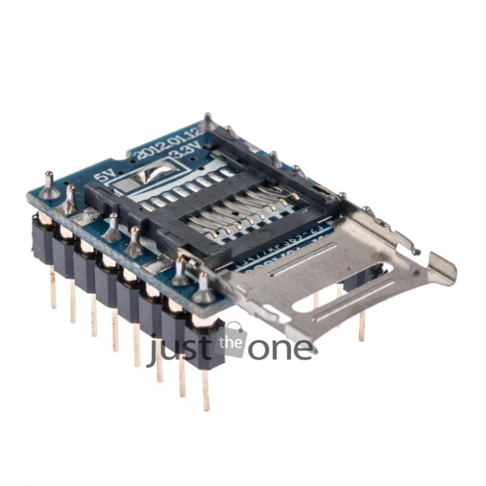 SD Card Reader & Sound Module for Arduino | NightFire Electronics LLC