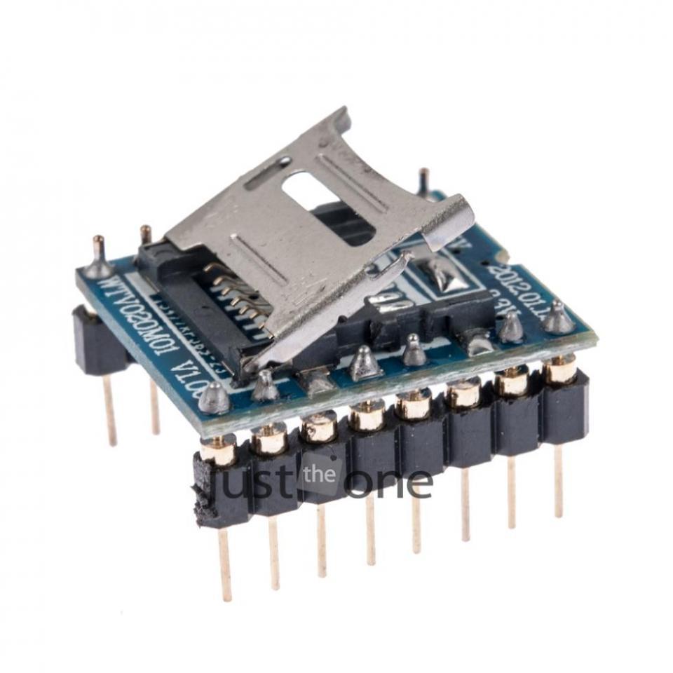 SD Card Reader & Sound Module for Arduino | NightFire