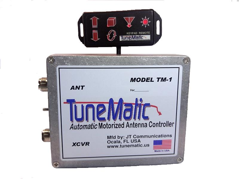 TuneMatic Motorized Antenna Controller | NightFire Electronics LLC
