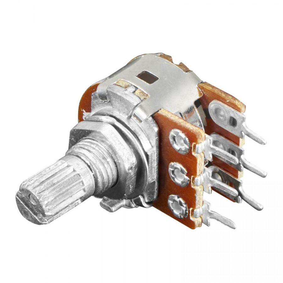 20k Dual Potentiometer 1 2 Watt Linear Pcb Or Panel